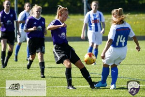 Action from the #SBSSWPL2 League Fixture at St Josephs Academy where Glasgow Girls FC travelled to home Side Kilmarnock LFC.