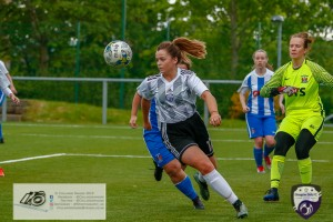 Action from the Scottish Building Society Women's Premier league at Petershill as Glasgow Girls take on Kilmarnock Ladies FC.