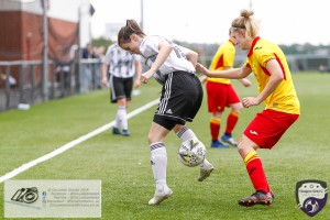 Action from the Scottish Building Society SWPL2 as Glasgow Girls FC secured 3 points with a 2-0 win over close neighbors Partick THistle