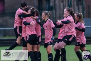 Action from the SWPL Cup Fixture at Petershill Park where Glasgow Women FC played host to Spartans.